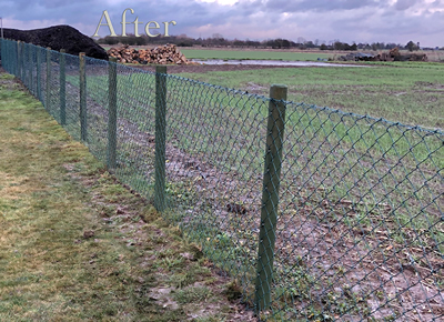 Fen Developments Fencing After