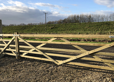 Fen Developments Fencing Gate